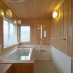 建築写真 バスルーム竣工写真