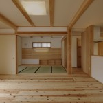 建築竣工写真 和室続き間 LDK