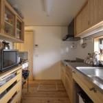 建築写真:キッチン竣工写真