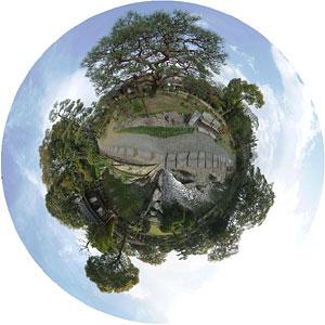 宇和島天赦園 360°パノラマ写真