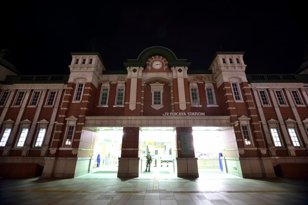 建築写真:深谷駅 駅舎