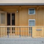 竣工写真__玄関回り正面:埼玉県坂戸市の建築写真