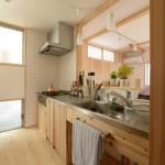 竣工写真_キッチン:埼玉県坂戸市の建築写真