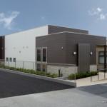 診療施設の竣工写真_外観南東面:神奈川県平塚市の建築写真