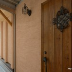 東面玄関竣工写真:埼玉県さいたま市の建築写真