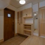 玄関ホール竣工写真:埼玉県さいたま市の建築写真