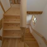 階段竣工写真:埼玉県さいたま市の建築写真