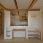 キッチン天板竣工写真:埼玉県さいたま市の建築写真