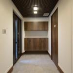 玄関ホール竣工写真:神奈川県川崎市の建築写真
