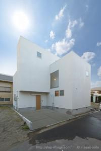竣工写真 空合成後:神奈川県茅ヶ崎市の建築写真