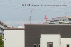 建築写真の修整 背景のパスを切る