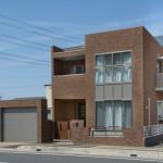 戸建てRC住宅の竣工写真