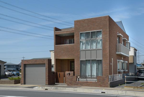 RC造住宅竣工写真