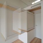 建築写真 可動式収納竣工写真
