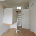 建築写真 可動式収納 ロフト竣工写真