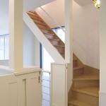 建築竣工写真 階段ホール