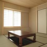 建築竣工写真 和室