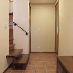 建築竣工写真 玄関