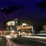 建築写真の修整:夜景をかっこよくしてという依頼