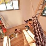 建築写真 のびのびと子育てできる家の竣工写真