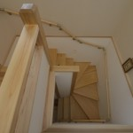 建築写真 階段竣工写真