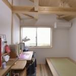 建築写真 子供室竣工写真