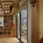 建築写真 LDK竣工写真 書斎の180°パノラマ写真