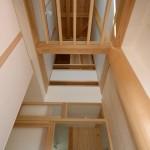 竣工写真_玄関上部:埼玉県坂戸市の建築写真
