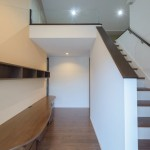 2Fホールからロフト竣工写真:神奈川県川崎市の建築写真