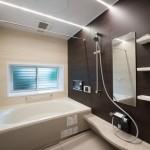 バスルーム竣工写真:神奈川県川崎市の建築写真