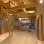 晃吉工務店 自然木の家